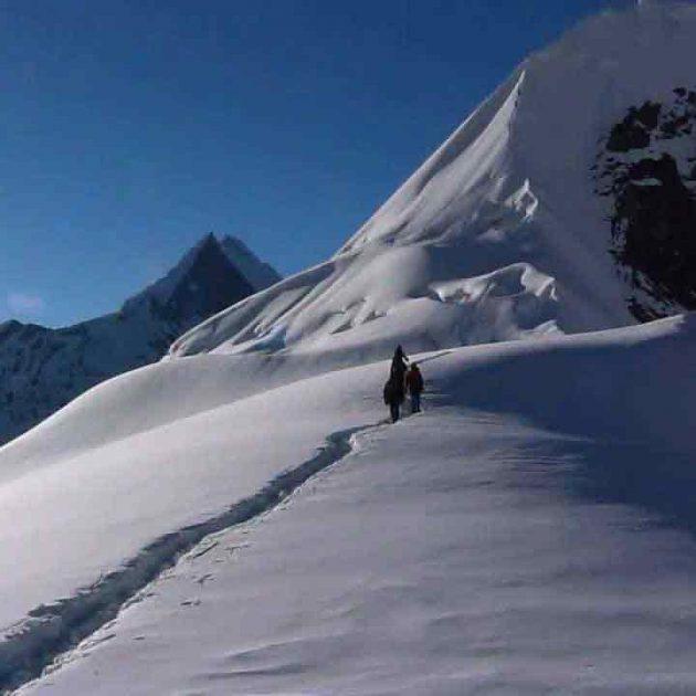 Climb of Tent Peak