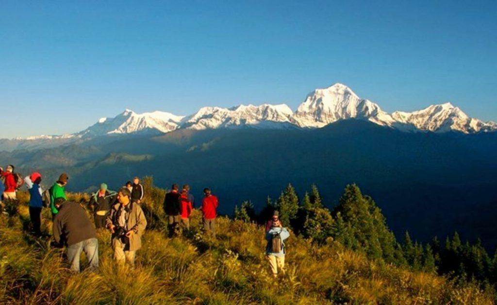 Trekking Nepal in October