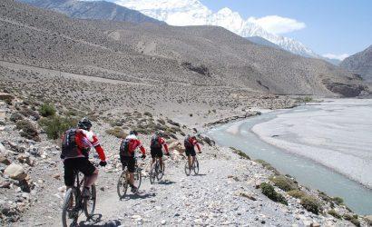 Jomsom to Kathmandu Biking