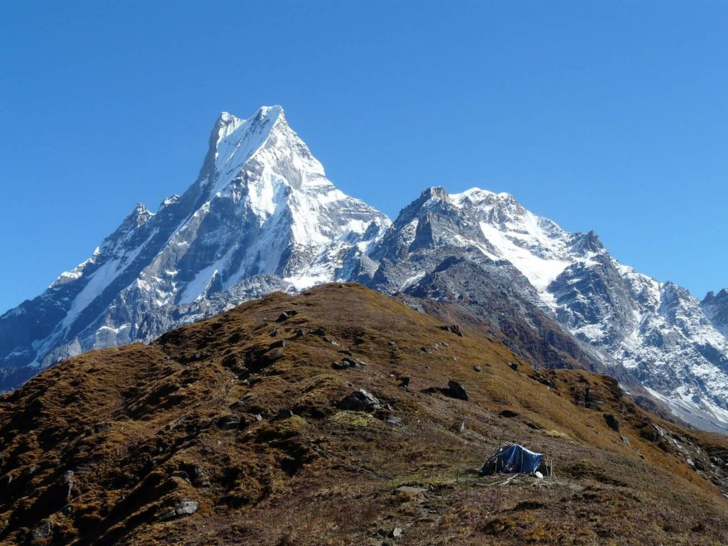 Trekking in Nepal in February 4