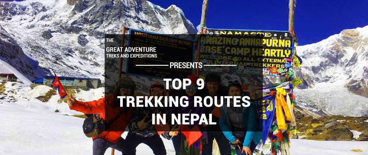 Best Trekking Routes of Nepal