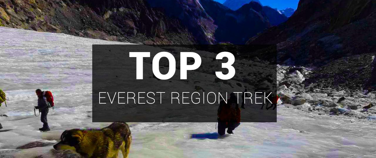 Top 3 Best Everest Region Treks