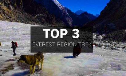 Top 3 Best Everest Region Treks
