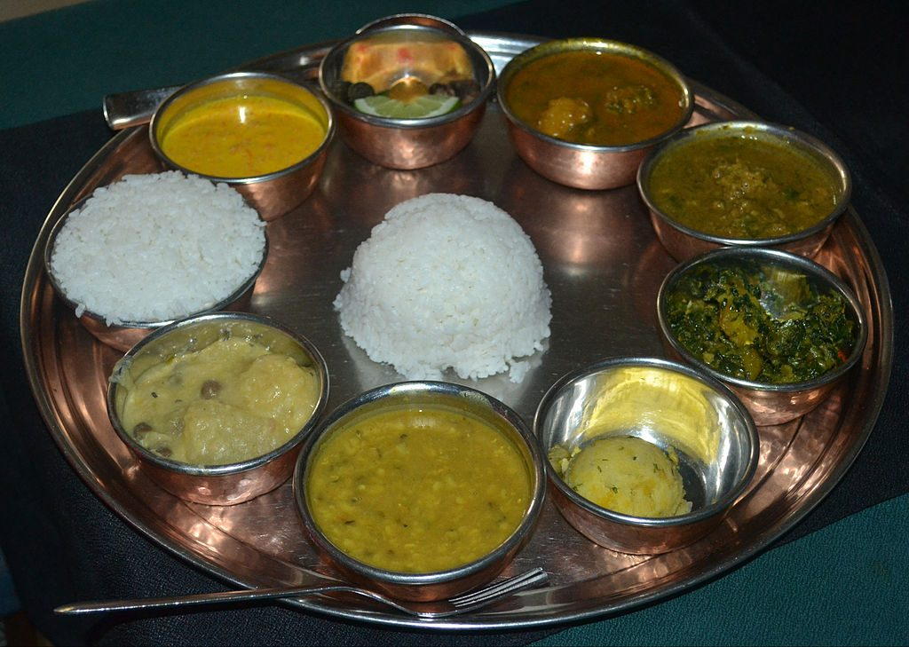 Typical Nepalese Food