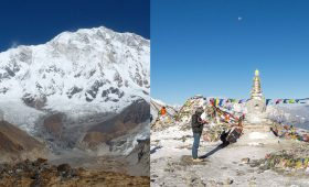 annapurna circuit vs annapurna base camp trek