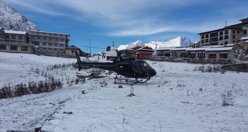 Everest Base Camp Helicopter Tour 2
