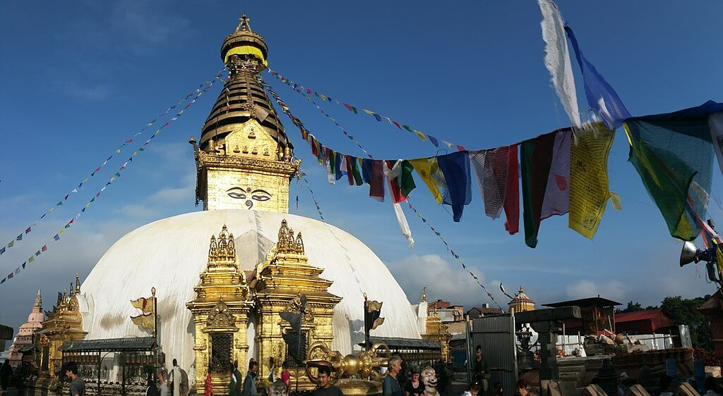 Swayambhu-Stupa