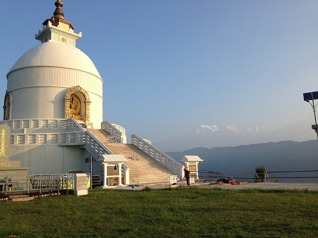 peace pagoda - Best day tours in Nepal