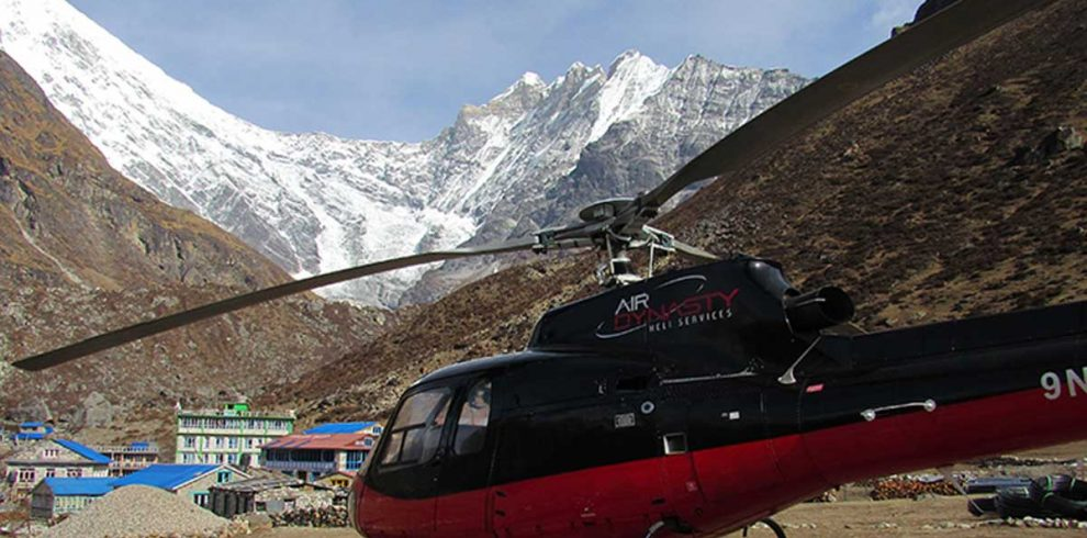 Langtang Helicopter Tour