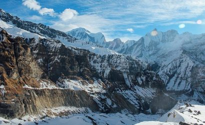 Trekking in Nepal in January