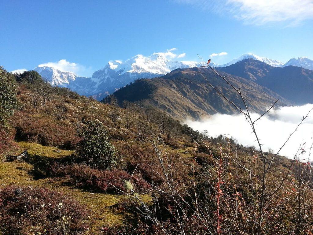Trekking in Nepal in November 2
