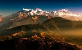Trekking in Nepal in July