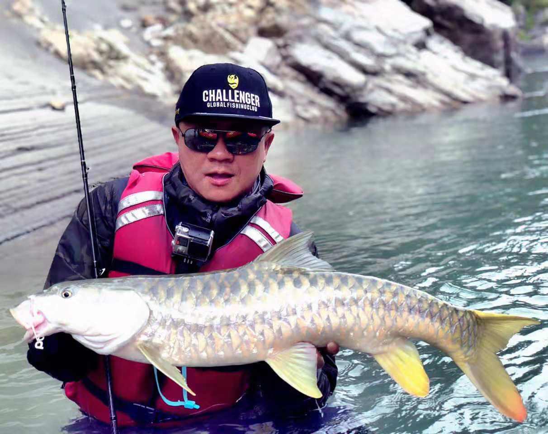 Fishing in Nepal in Seti Karnali