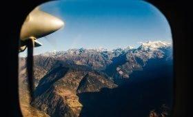 Domestic flight in Nepal