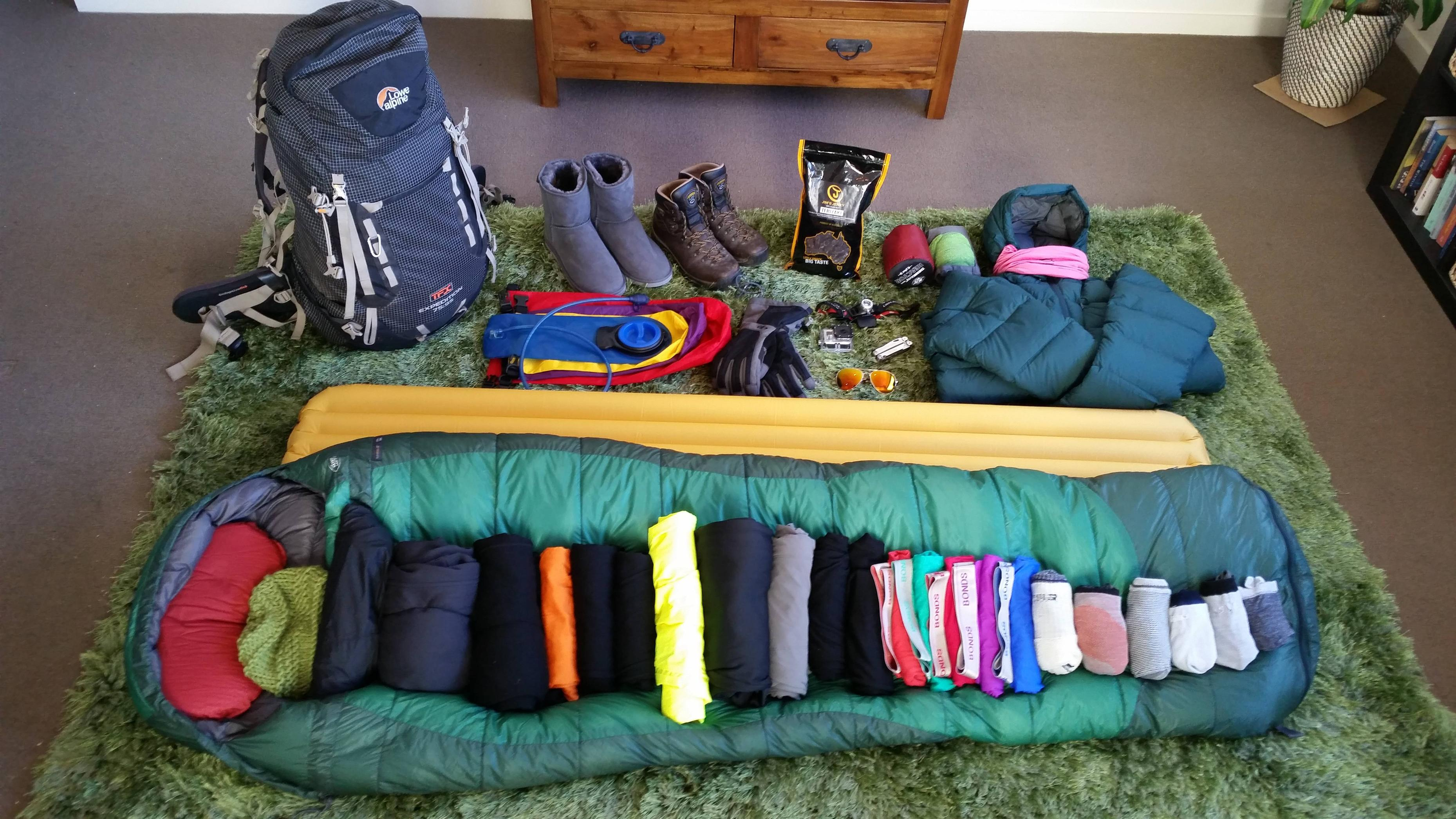 Everest Base Camp Packing List