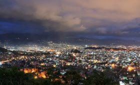 Kathmandu at night