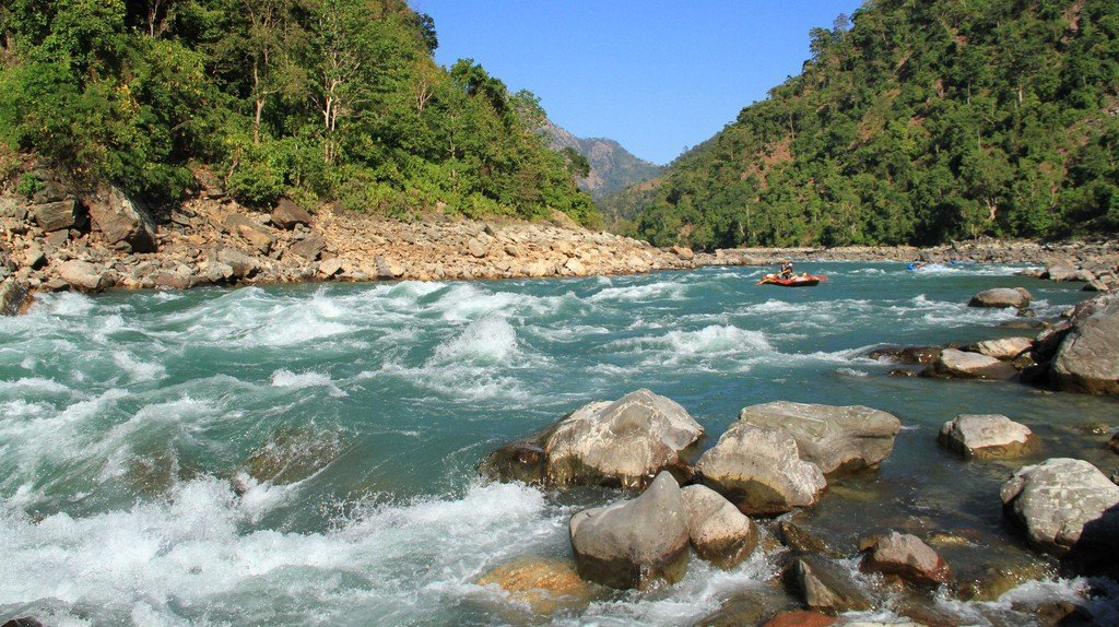 Best Places for Fishing in Nepal Tamur River Fishing