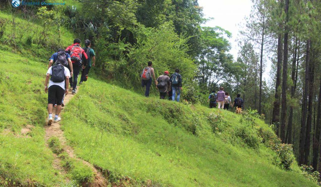 Best Hikes near Kathmandu namo budhha